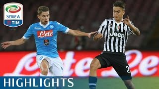 Napoli - Juventus 2-1 - Highlights - Matchday 6 - Serie A TIM 2015/16