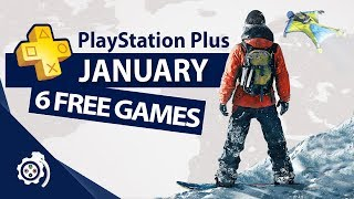 PlayStation Plus (PS+) January 2019