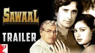 Sawaal | Official Trailer | Shashi Kapoor | Poonam Dhillon