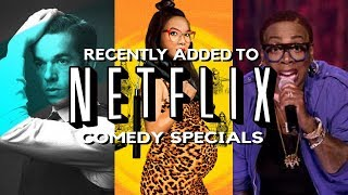 NETFLIX NEW RELEASES | Stand Up Comedy