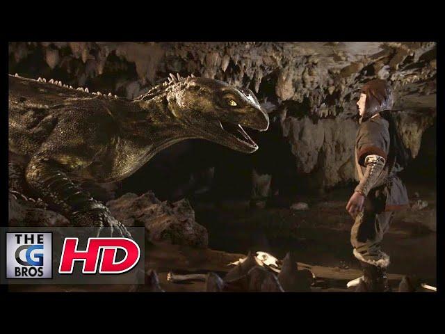"**Award Winning** CGI & VFX Short Film:  ""Dragon's Scale""  - by Media Design School"