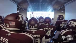 Texas A&M Football Entrance 2014