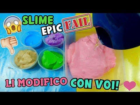 I MIEI SLIME EPIC FAIL! (LI AGGIUSTO E MODIFICO CON VOI) Iolanda Sweets