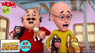 Motu Patlu dalam Bahasa | Anjing Kesayangan Motu Patlu | Kartun animasi 3D untuk anak-anak