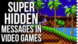 Super Hidden Messages In Video Games