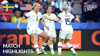 Sweden v USA - FIFA Women's World Cup France 2019™