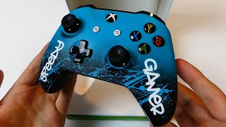 MY NEW EXTREMELY COOL CUSTOM GAMING CONTROLLER!!! Controller