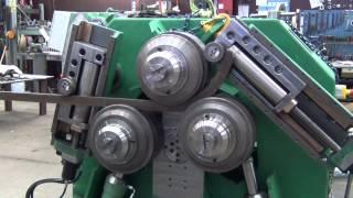 Roundo Section bending machine, R-52-S spiral bending