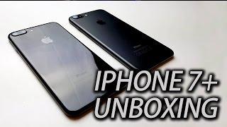 Iphone 7 Plus Jet Black Unboxing - 鋼琴黑還是深黑?新拍照模式?