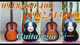ban dan guitar mau go , ban dan guitar mau den gia rat re cho moi nguoi , guitar 390k