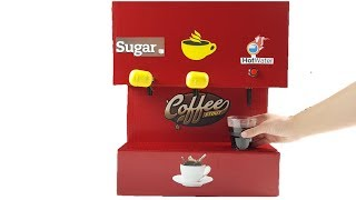 How to Make a Coffee Machine with button
