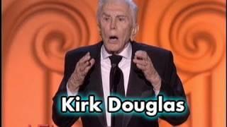 Kirk Douglas Salutes Michael Douglas at 2009 AFI Life Achievement Award