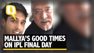 The Quint: Vijay Mallya Cheers RCB from London via FB Live, Far Away from ED