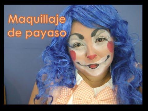 Maquillaje de payaso DIY