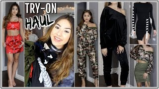 ONE BIG ASS TRY-ON HAUL ♡ Clothing & Accessories ♡ Adyel Juergensen
