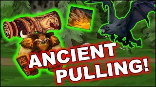 Dota 2 Tricks: Ancient creeps pulling with Earthshaker!