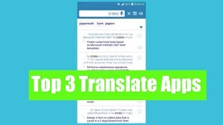 The 3 Best Language Translation Apps for Android + iOS