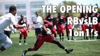 The Opening 2014: RB vs LB 1 on 1