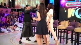 Vice Ganda with PBB big four Hair Dance on Gandang Gabi Vice