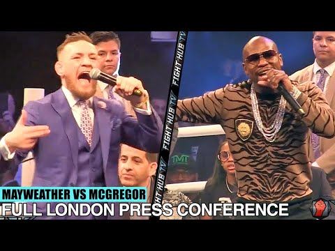 Xxx Mp4 THE FULL FLOYD MAYWEATHER VS CONOR MCGREGOR LONDON PRESS CONFERENCE VIDEO 3gp Sex