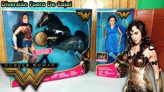 Muñecas De La Pelicula De La Mujer Maravilla Y mini episodio!/ Wonder Woman Dolls