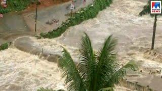 ചെറുതോണി അണക്കട്ടിന്റെ ഷട്ടറുകൾ ഒരു മീറ്റർ ഉയർത്തി   Cheruthoni dam