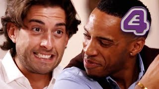 Arg Has Cutest Bromance With Sarah-Jane's Date!! | Celebs Go Dating
