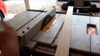 Building a Cherry Sunburst Table (Part 3) (Bending wood for the Skirt/Apron)
