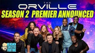 The Orville Season 2 Premiere Confirmed - Seth MacFarlane Fox Upfronts | TALKING THE ORVILLE