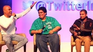 #RiseWithTwitter Event | Baba Sehgal, Tanmay Bhatt