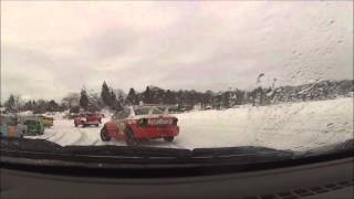 Lake Superior Ice Racing 3/5/16 Feature Race #99 Angie