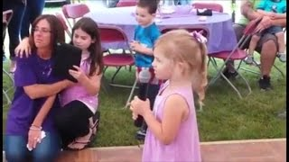 4-Year-Old Performs Touching Martina McBride Song for Mom with Cancer