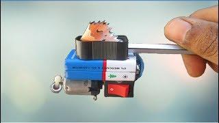 How to Make Pencil Sharpener Machine at Home | Technical Ninja