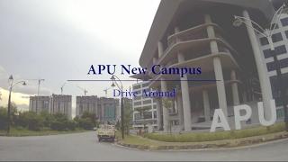 Drive Around APU New Campus
