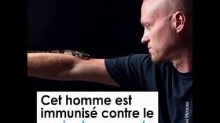 Cet homme est immunisé contre le venin des serpents