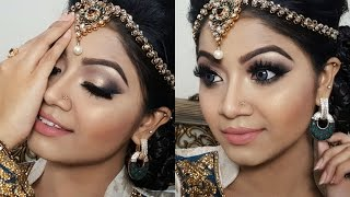 Trendy Wedding Makeup Tutorial - Asian/Indian/Bangladeshi Bridal Makeup tutorial