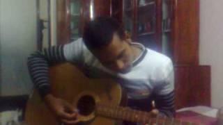 sylheti boy having fun with guitar