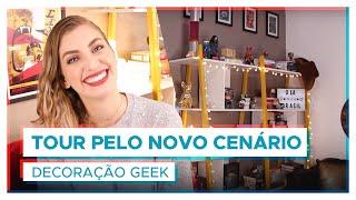 TOUR PELO CENÁRIO NOVO! | Dicas de decoração geek!