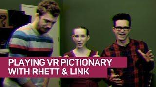 Rhett & Link battle for artistic supremacy -- in VR