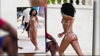 Rihanna en bikini à la Barbade