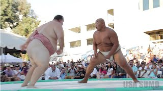 2013 US SUMO OPEN - SUMO SLAM (Byamba vs. Kelly) - Official Video