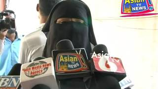 Asian Tv News. TEEN TALAQ KA MASLA IN HYDERABAD 01-03-2017