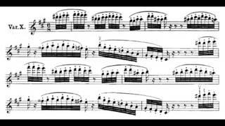 The Carnival of Venice - Salvatore Accardo (Niccolò Paganini)