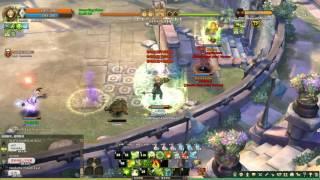 Tree of Savior GVG - Bokor vs Monk + Fletcher #p2 MVP (救世主之樹-邪靈祭司 GVG)