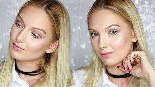 Codzienny delikatny makijaż kosmetykami z Drogerii Natura | ALEANDRA