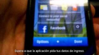 Como configurar Facebook en Nokia N8