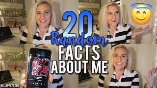 GET TO KNOW ME! 20 RANDOM FACTS ABOUT ME (Talkative Tuesday) || Kellyprepster