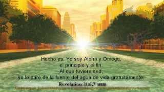 Nueva Jerusalén,Apocalipsis 21, 22, revelación,español,Spanish subtitles,Fotos de Cielo,Ciudad Santa