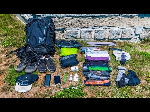 MINIMALIST TRAVEL GEAR WHAT TO BRING TRAVEL TIPS