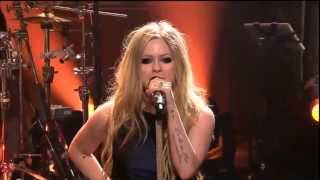 Avril Lavigne Here's To Never Growing Up First Time Live- The Tonight Show Jay Leno